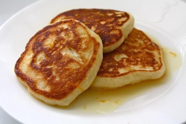Breslin's Orange-Ricotta Pancakes   ♨ Recipes - Breakfast ...