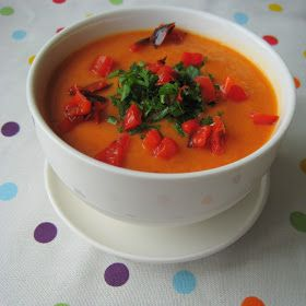 roasted red pepper & cauliflower soup | Recipes | Pinterest
