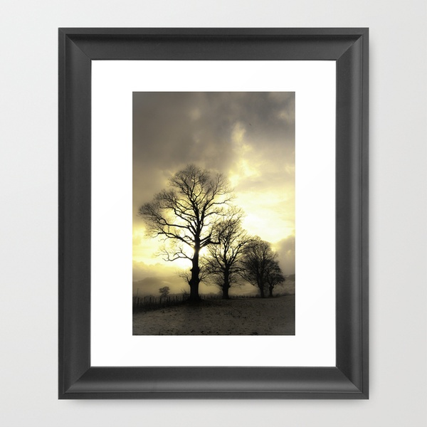 Golden Tree Portrait Framed Art Print | Cool stuff to buy | Pinterest: pinterest.com/pin/565201821954964615