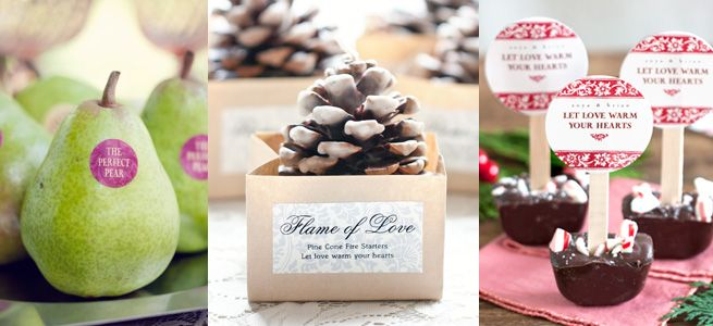 Wedding Favor Wording Examples : wording examples for Spring Wedding or Summer Wedding, Fall Wedding ...