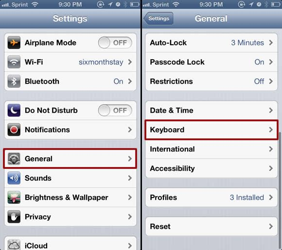 how to enable tracking on iphone