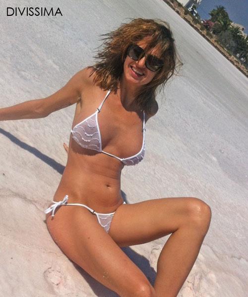 Sexy micro bikini contest