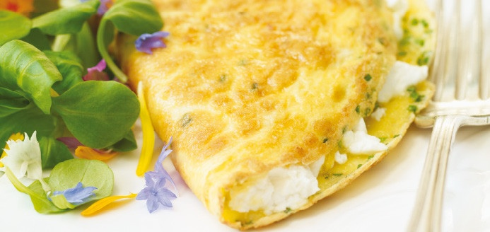 Goat Cheese And Fresh Herb Omelet Recipes — Dishmaps