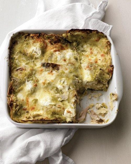 Tortilla Pie with Chicken - Martha Stewart Recipes