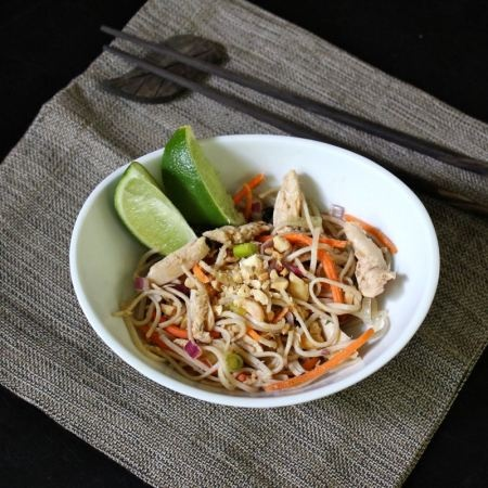 Peanut Chicken Soba Salad | salads | Pinterest