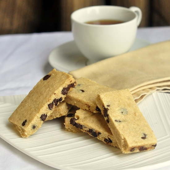Espresso Chocolate Chip Shortbread Cookies - I was skeptical about ...