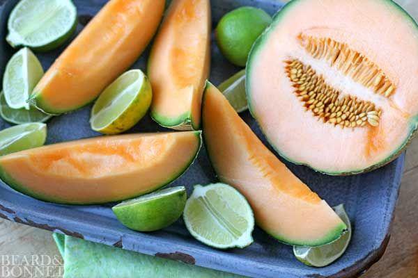 Cantaloupe and Lime Agua Fresca (Gluten Free & Vegan) - Beard + Bonnet