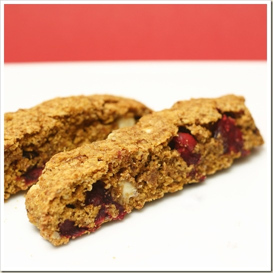 Cranberry Pumpkin Biscotti... | Cookies and Bars | Pinterest