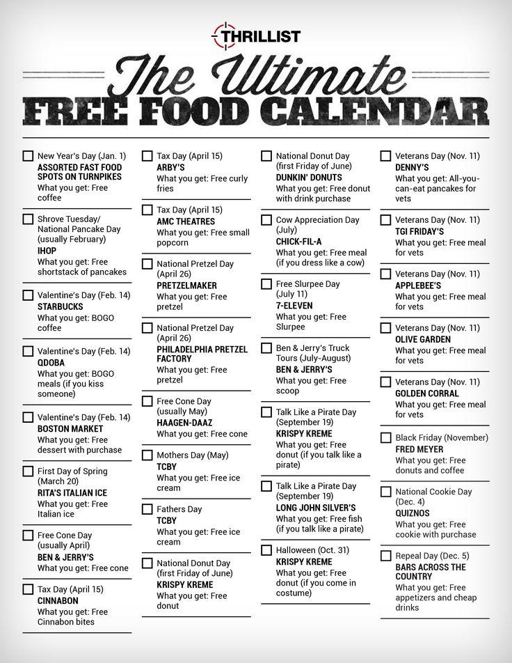 more facts food holidaysasp