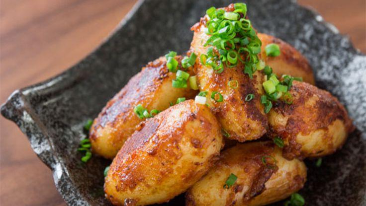 Spicy Miso-Glazed Potatoes Recipe 2014