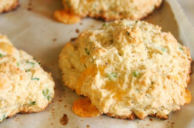 Cheddar Scallion Biscuits | Fantastic food | Pinterest