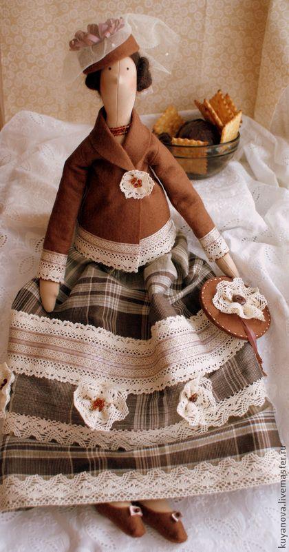 Куклы Тильды ручной работы.  Ярмарка Мастеров - ручная работа Горячий шоколад.  Ручная работа.