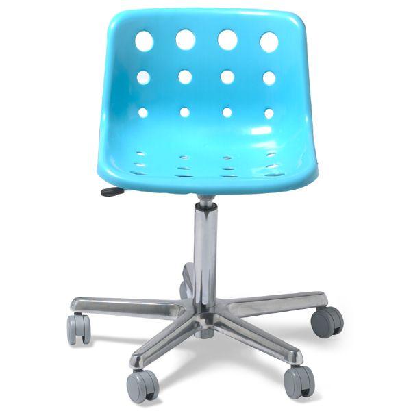 Turquoise Desk Chair Nova blue polo desk chair
