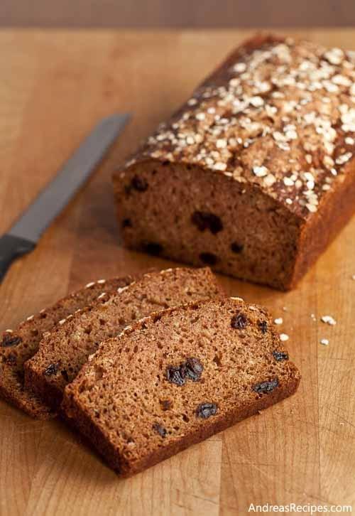 Apple Cinnamon Oatmeal Bread, an easy batter bread to make for ...