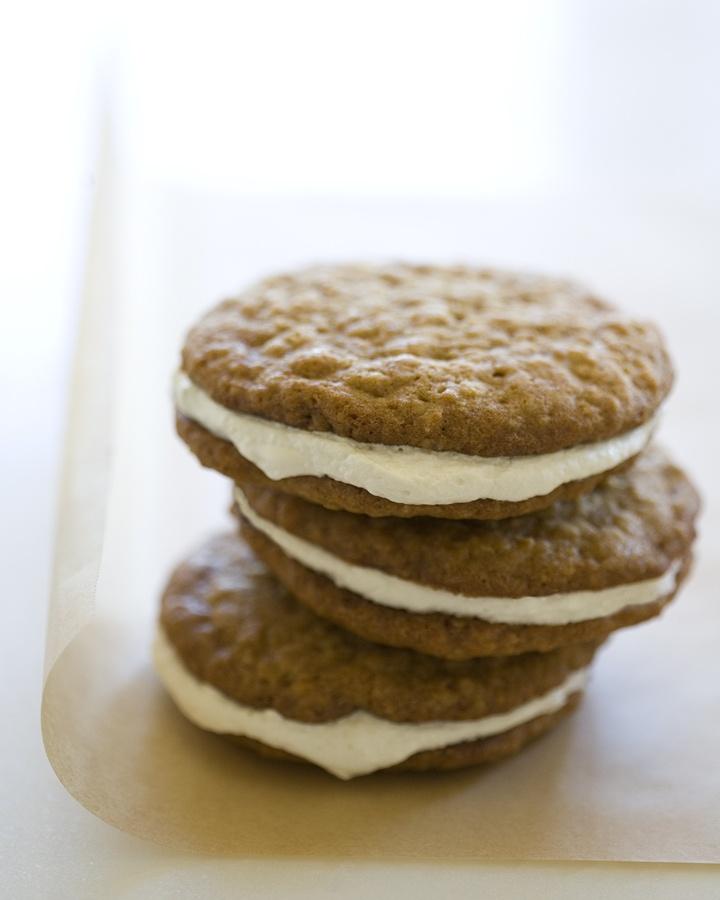 Oatmeal Cream Pies | Dessert First | Pinterest