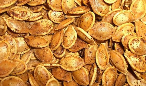 ... with pumpkin seeds video sweet and spicy pumpkin seeds martha stewart