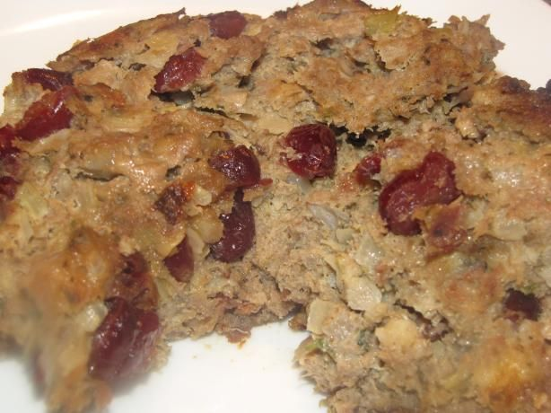 Torkey Thyme Meatloaf from Food.com: #ultimatethanksgiving So, this ...