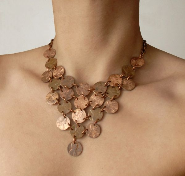 penny necklace google search jewelry inspirations