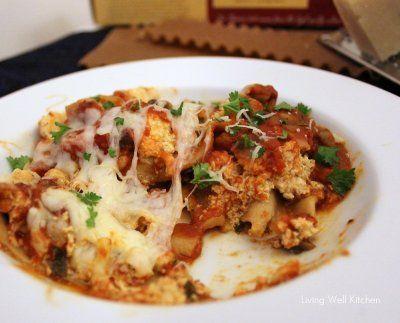Crock-Pot Vegetable Lasagna | Living Well Kitchen