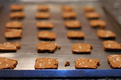 Gluten Free Chocolate Almond Wafers | Gluten-free Foodie | Pinterest