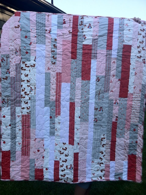 Scrappy strip quilt pattern Sewing n Quilting Pinterest