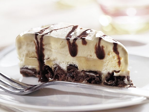 Devil's Food Ice Cream Pie ~~ The sinfully delicious trio of chocolate ...