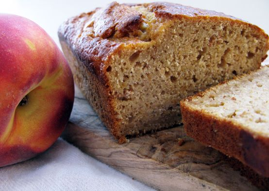 peach bread. Very very very good! The dough is awesome the bread ...