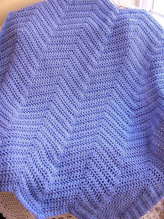 Crochet Zig Zag Baby Blanket : chevron zig zag baby blanket afghan wrap by JDCrochetCreations, $75.00 ...
