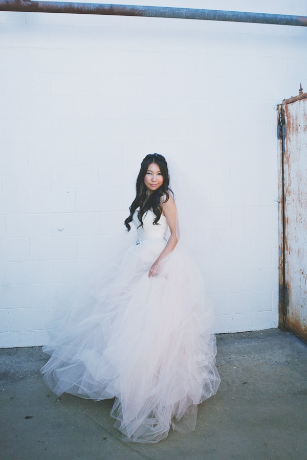 a tulle-clad Bride   Photography by closertolovephotography.com, Dress by http://atelierbydawn.com/
