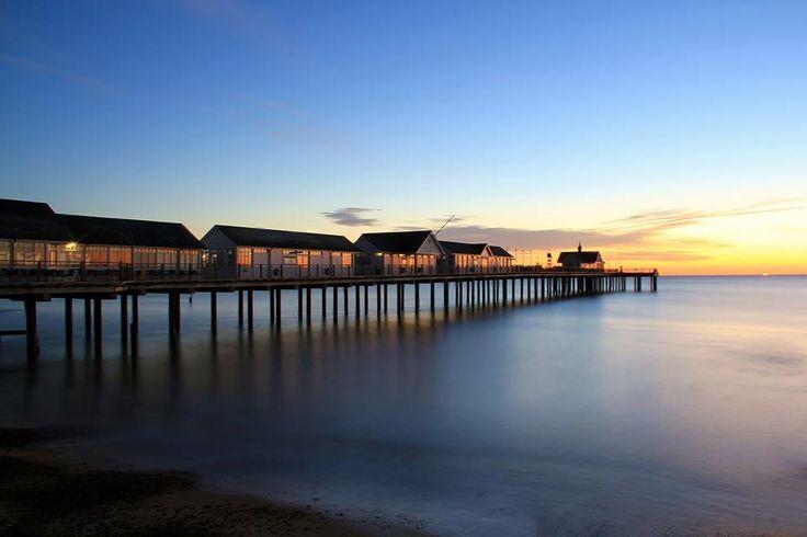 Southwold sunrise, by Stanley Brett