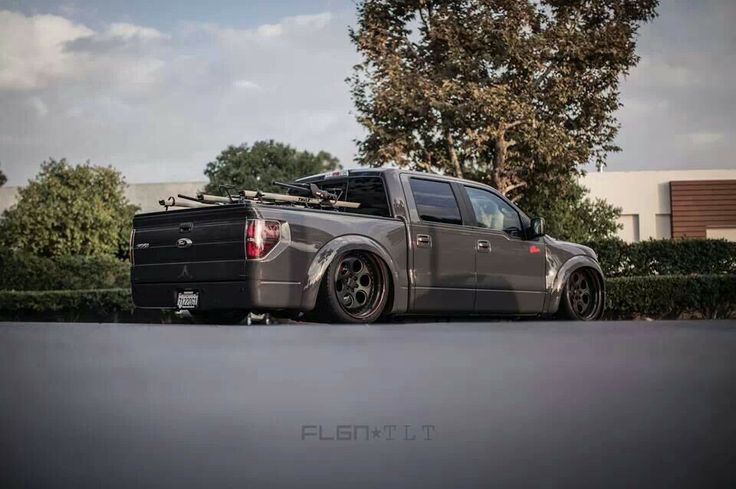Ford Work Trucks F-150 slammed | Off Road Trucks and Cars | Pinterest