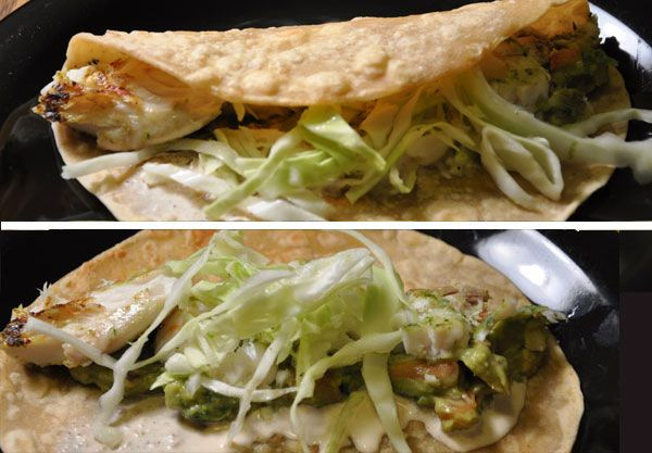 Cilantro Lime Fish Tacos | deliciousness | Pinterest