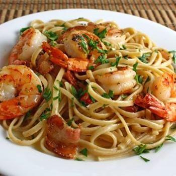 "Shrimp Carbonara Recipe - Closet Cooking | Kevin "" Closet Cooking ..."