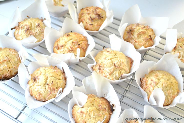 double coconut muffins | Deserts | Pinterest