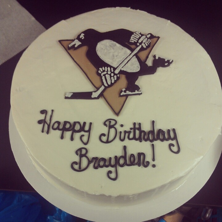 pittsburgh penguins birthday cakes