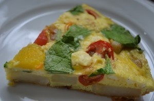 designer bags australia Frittata with Spinach Tomatoes and Feta  Breakfast amp Brunch  Pinte