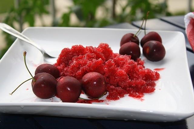Cherry Lemon Granita | Favorite Recipes | Pinterest