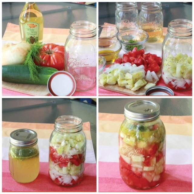 How To Make The Best Marinated Tomatoes And Cucumbers 1) You will need ...