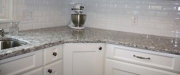 Homemade Standing Desk further Picture3993229 together with Big White Flower Granite also Maple Shaker Style Kitchen Cabi s as well Pebble Hill. on kitchen backsplash