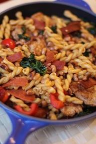 Louisiana Vegan Chicken Skillet Dinner | Skillet Dinners | Pinterest