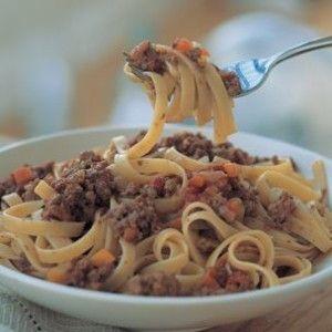 Fettuccine Bolognese - Holidays   Recipes   Pinterest