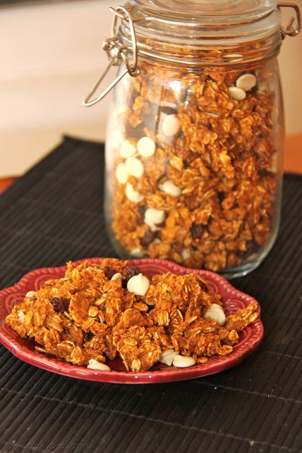 Delicious Pumpkin Pie Granola | Food | Pinterest