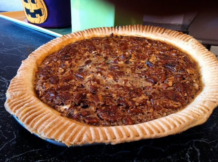 chocolate bourbon pecan pie. | crest cafe | Pinterest