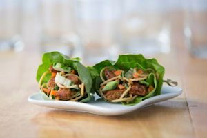 ... Black Bean Burger Lettuce Wraps – made with our Spicy Black Bean