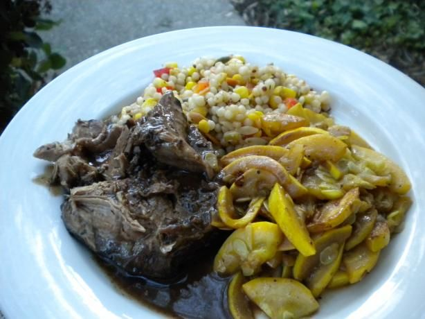 Zinfandel-Braised Leg of Lamb (Slow Cooker) from Food.com: This is a ...