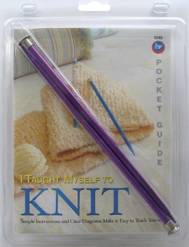 Teach Yourself How To Crochet : 98 Boye Pocket Guide Teach Yourself to Knit by Boye, http://www ...