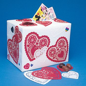 valentine day shoe box decorating ideas