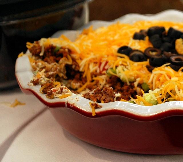 Taco Dip | Mexican | Pinterest