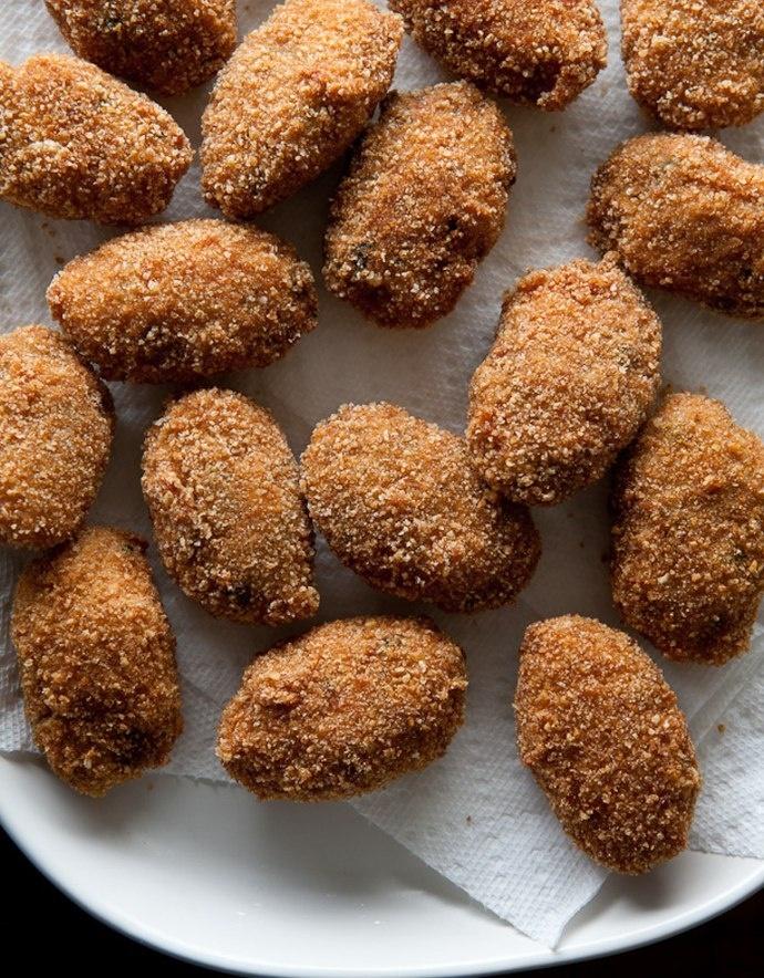 Fried Chicken Potpie Poppers | Betty Crocker. | Pinterest