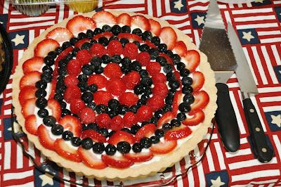 4th of july fruit tart recipe